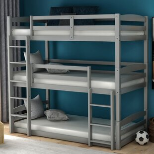 Bitton Twin Over Twin over Twin Bed by Isabelle amp Max