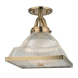 Alene 1-Light Semi Flush Mount..