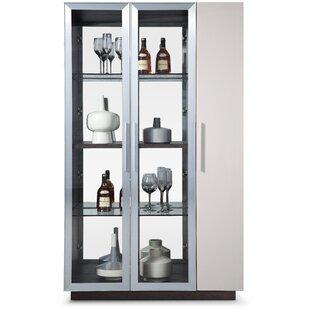 Bellini Modern Living Vera Lighted Curio Cabinet