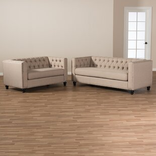Stonybrook 2 Piece Living Room Set by Alcott Hill