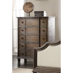 Gracie Oaks Catron 5 Drawer Chest