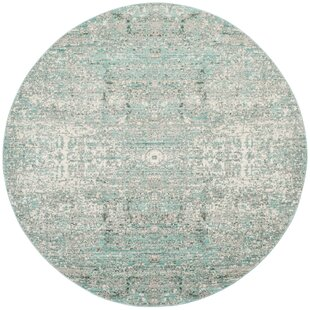 Celeta Teal Area Rug by Trent Austin Design