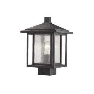 Comparison Hungate Outdoor Mount Fixture 1-Light LED Lantern Head By Bloomsbury Market