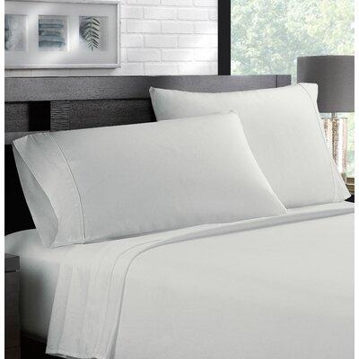 500 Thread Count 100 Cotton Pillowcase Ebern Designs Color Stone Size King Ibt Shop