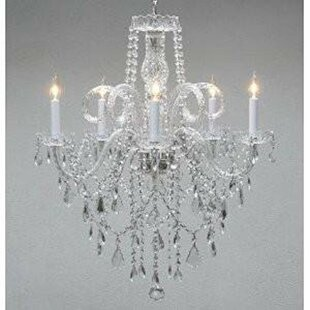 Astoria Grand Linville 5-Light Candle Style Chandelier