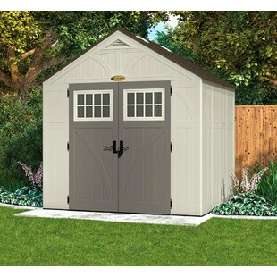 Sroka 7 Ft. W X 9 Ft. D Apex Plastic/Metal Shed By Sol 72 Outdoor