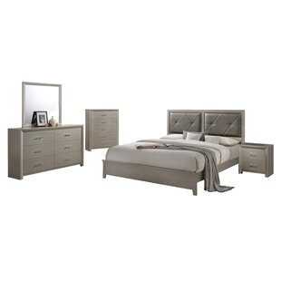Whatley Panel 4 Piece Bedroom Set