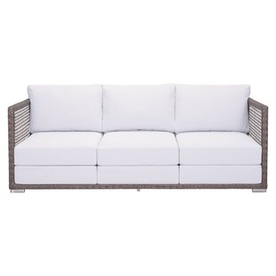 Rosecliff Heights Letterly Patio Sofa wit..