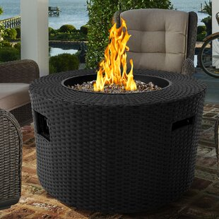 Moon Stainless Steel Propane Fire Pit Table