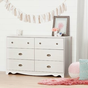 Affordable Caravell 6 Drawer Double Dresser by South Shore Reviews (2019) & Buyer's Guide