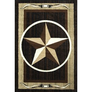 Star Brown/Beige Area Rug