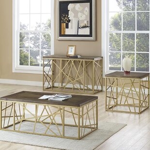 Turcotte 3 Piece Coffee Table Set by Mercer41