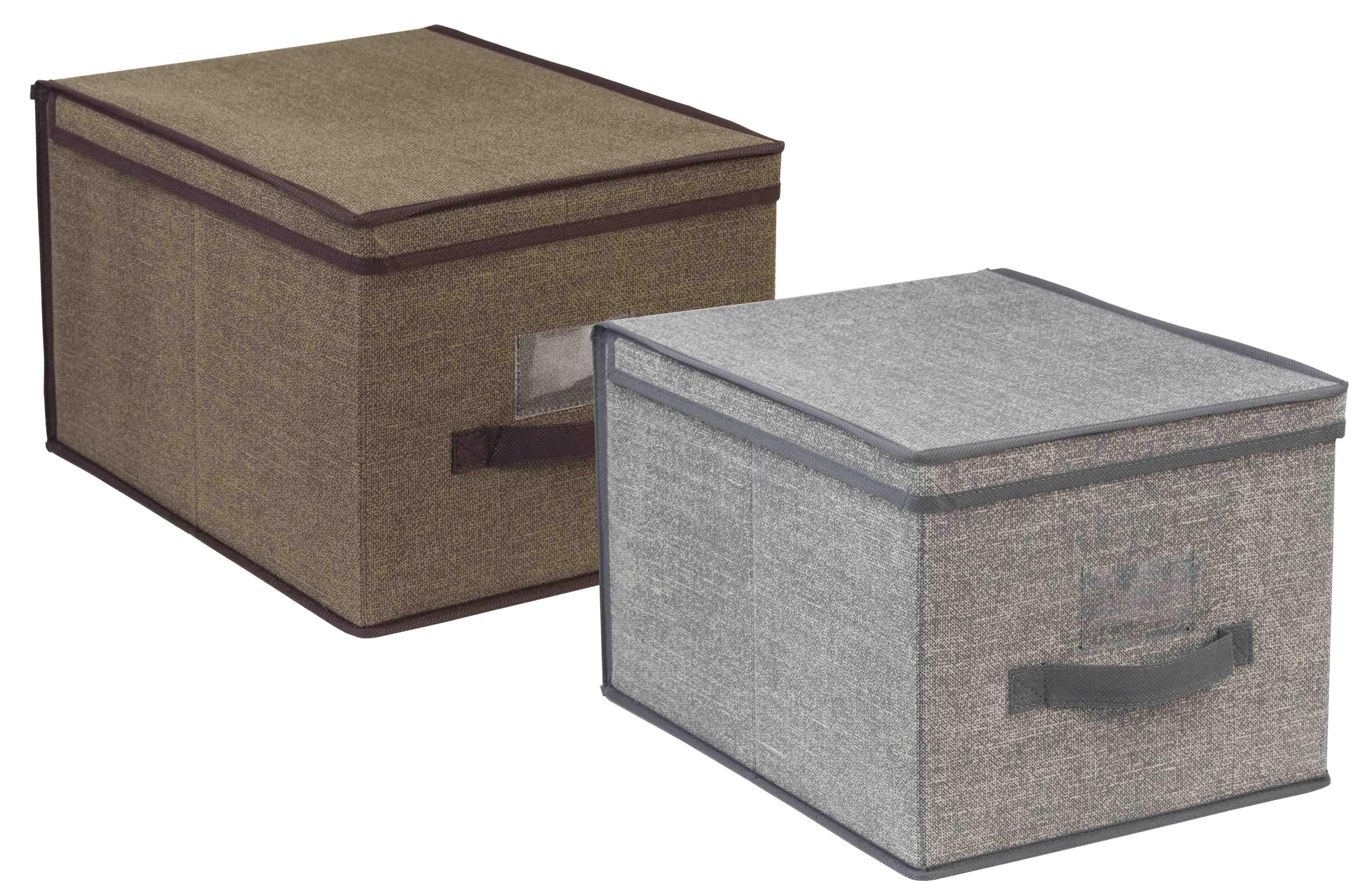 sc 1 st  Wayfair & Rebrilliant Jute Handle Storage Box u0026 Reviews   Wayfair