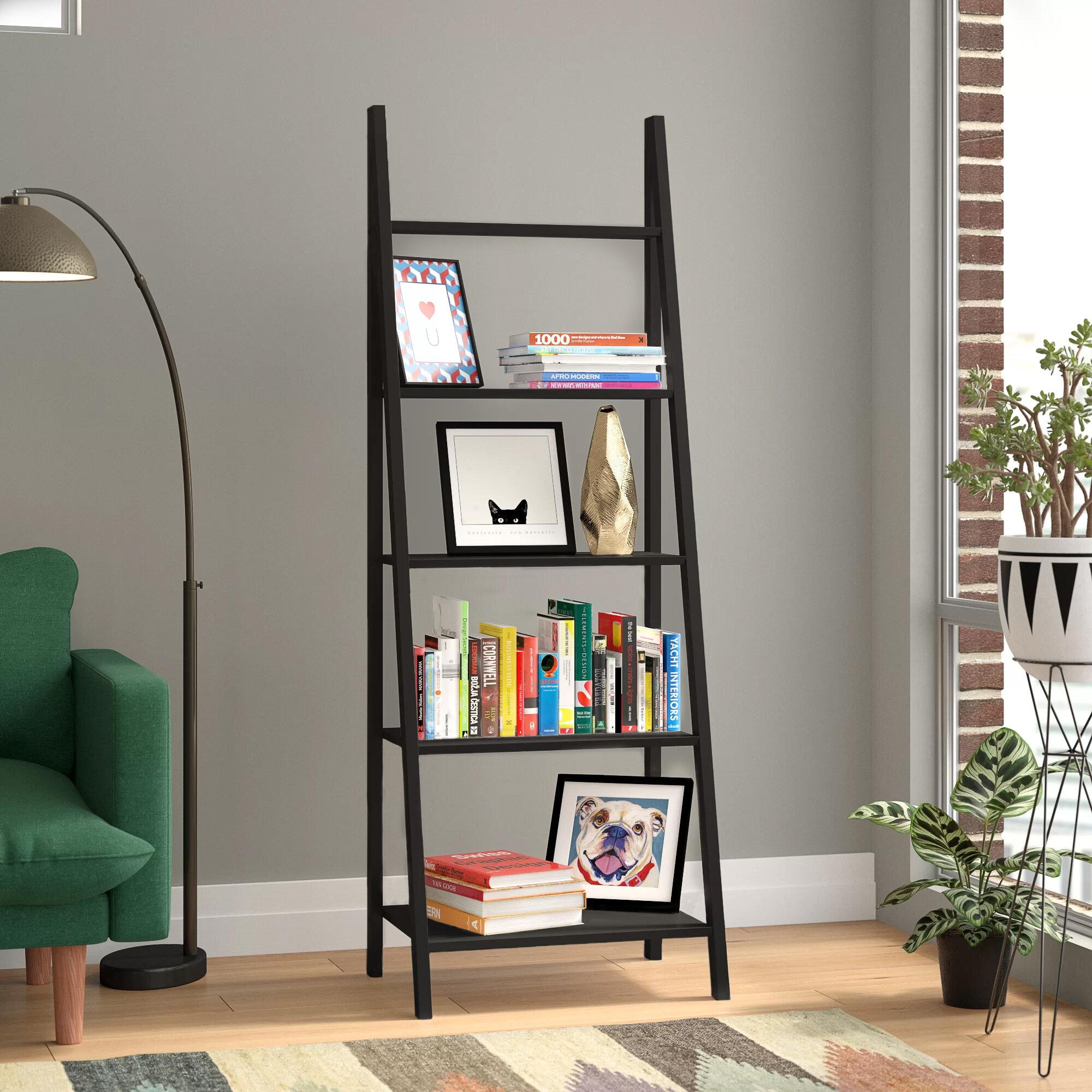 Brayden Studio Lebanon Ladder Bookcase Reviews Wayfair