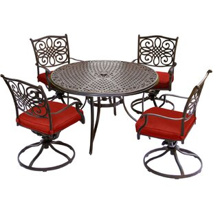 Rachal Traditions 5 Piece Dining Set