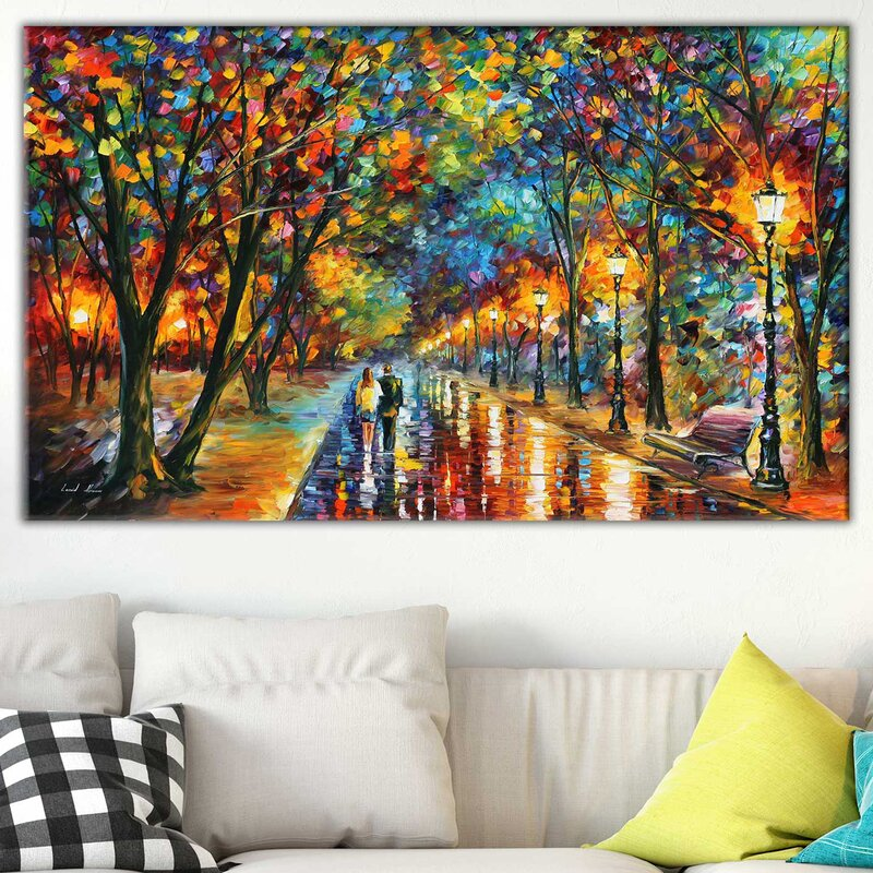 Dream Wall Decorations - 'When the Dreams Came True' - Canvas Print