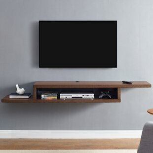 ascend 72 asymmetrical wall mounted tv component shelf by martin rh livingsofa luxuryallsorts com Wood TV Component Shelf asymmetrical wall mounted tv component shelf uk