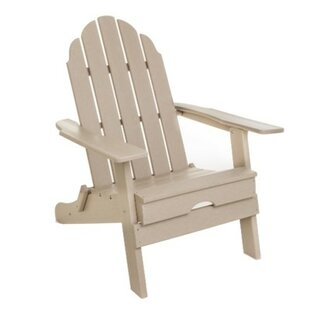 String Light Company Plastic Folding Adirondack Chair