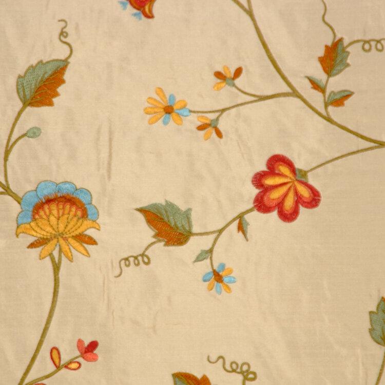 Rm Coco Allure Floral Foliage Fabric