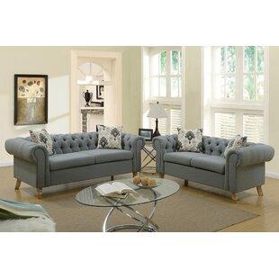 Torain 2 Piece Living Room Set by Ophelia & Co.
