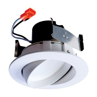 Integrated LED 4 Eyeball Recessed Trim By Halo Ceiling Lights