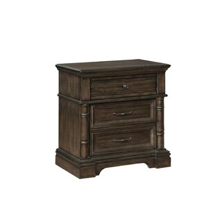 Rickie 3 Drawer Nightstand