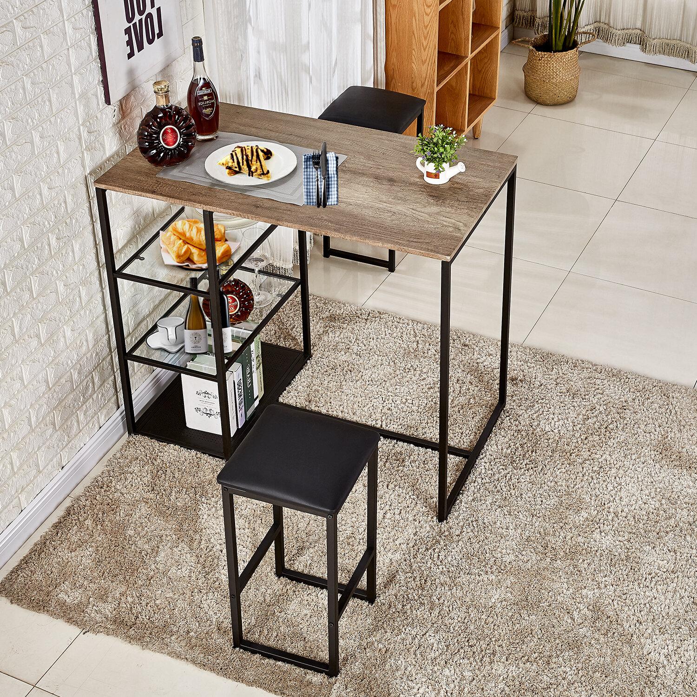 Ebern Designs Ligon 3 Piece Breakfast Nook Dining Set & Reviews