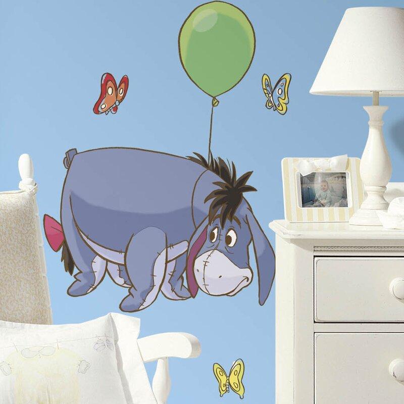 Room Mates Winnie the Pooh Eeyore Giant Wall Decal & Reviews | Wayfair
