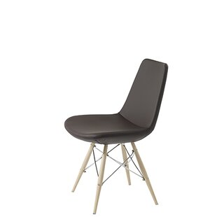Shinkle Dowel Upholstered Dining Chair by Brayden Studio