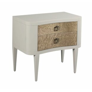 Sir 2 Drawer Nightstand