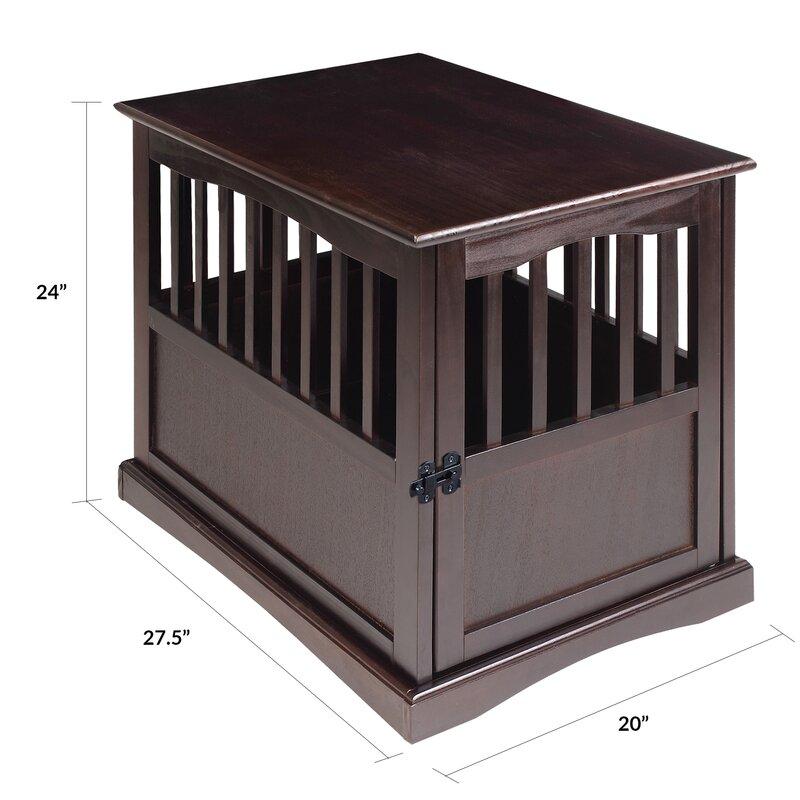 tucker murphy pet agatha pet crate end table & reviews | wayfair