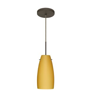 Tao 1-Light Cone Pendant by Be..