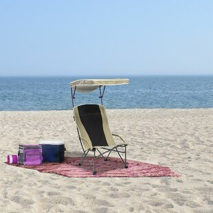 Pro Comfort High Back Folding Beach Chair