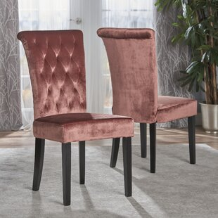 Normanton Upholstered Dining Chair (Set of 2) House of Hampton