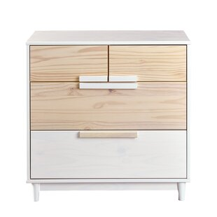 Jeffrey 4 Drawer Chest By Mikado Living