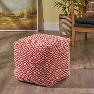 Harbin Pouf by Wrought Studio
