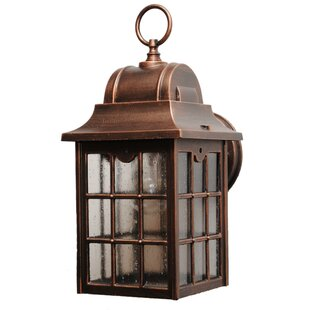Look for Archard Rustic 1-Light Outdoor Wall lantern By Darby Home Co