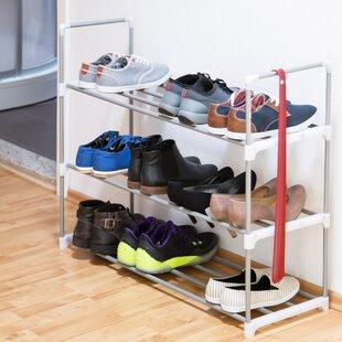 12 Pair Shoe Rack By Symple Stuff