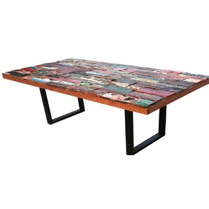 Barnes Rectangular Dining Table by Loon Peak