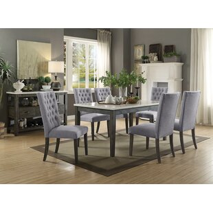 Lacluta 7 Piece Dining Set Ophelia & Co.