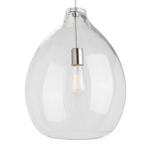 Quinton 1-Light Pendant by Tech Lighting