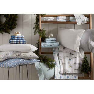 Nordic Solid 100% Flannel Sheet Set