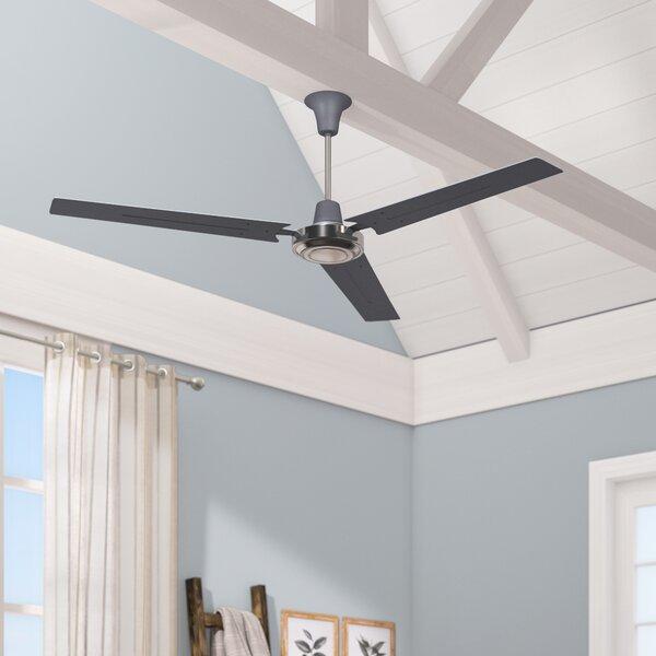 Breakwater Bay 56 Frederica 3 Blade Propeller Ceiling Fan With Wall Control Reviews Wayfair