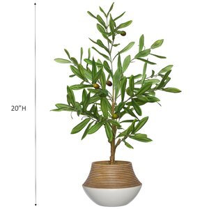 Faux Olive Tree At Ikea