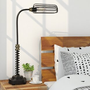 Zenobia Task 35.5 Arched Table Lamp
