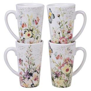 Rosemount 4 Piece Coffee Mug Set