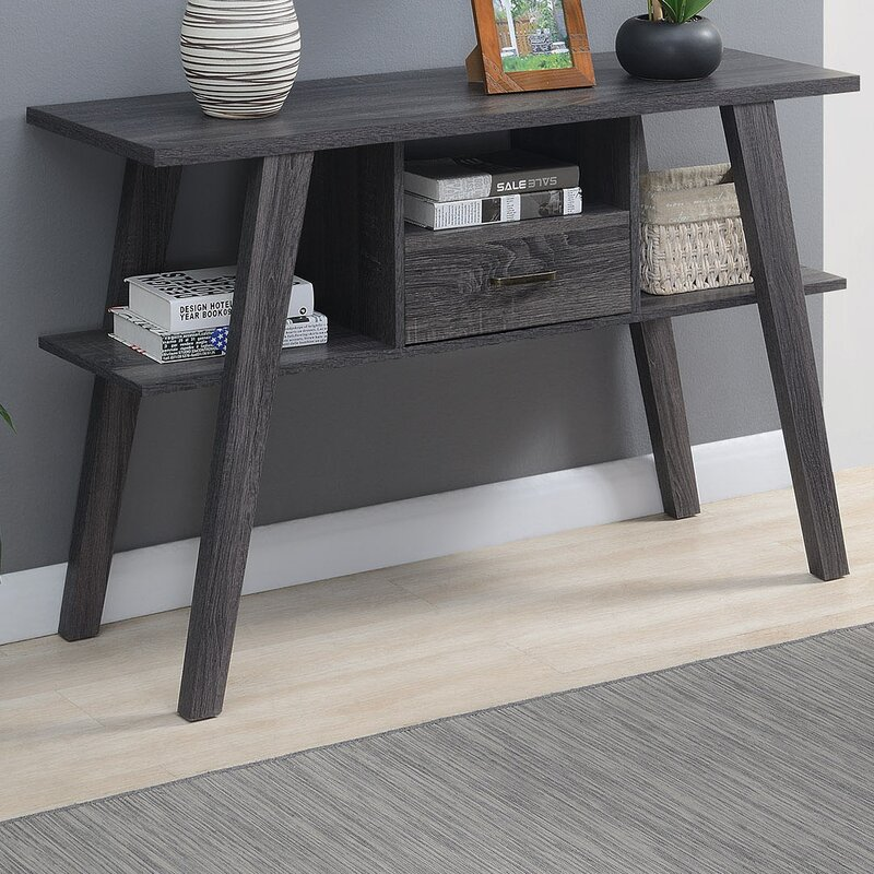 George Oliver Piotrowski 47 25 Console Table Reviews Wayfair