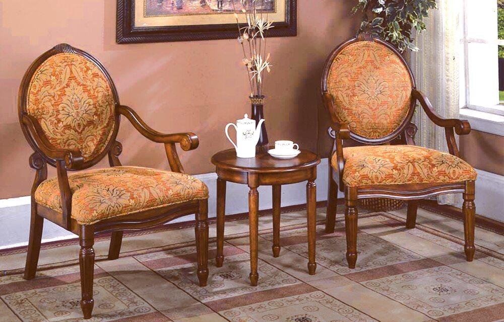 Astoria Grand Oreanda 3 Pieces Living Room Armchair Set & Reviews ...
