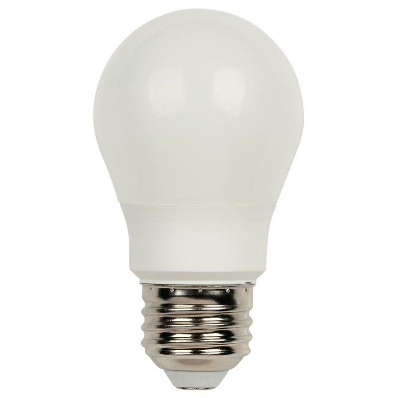 new styles e3e3c d5bb6 6 Watt (60 Watt Equivalent) , A15 LED Light Bulb, Warm White (2700K) E26  Base