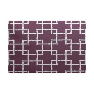 Connelly Purple Indoor/Outdoor Area Rug